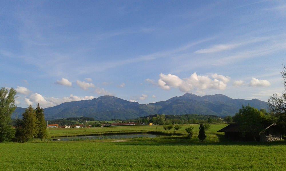 Unsere Bergwelt an einem schönen Sommertag